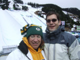Sue and Me at Cypress Mountain