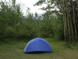 Camping in Carcross