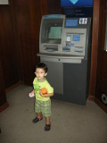 First trip to an ATM