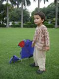 Rahil is kind of the Charlie Brown of kite fliers
