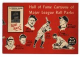 Gene Mack's Hall of Fame Cartoons of Major League Parks (1947)
