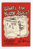 What's the Name Again (1949)