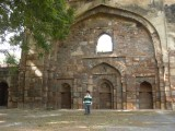 In the Sikander Lodhi Tomb compound