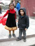 Antara, the birthday girl, and Rahil