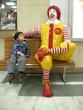 First meeting with Mr. McDonald.  Delhi airport.