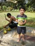 Fresh coconut!