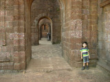 At the Basilica of Bom (Good in Portugese) Jesus, Old Goa