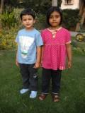 Rahil and Sarah.