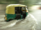 Brave autorickshaw wallah