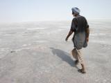 Mohammad Khan on the Rann of Kutch