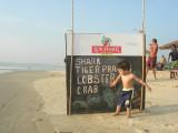 Beach Shack Menu, Goa