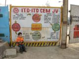 Construction Site, New Delhi