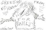 Original drawing for Rahil