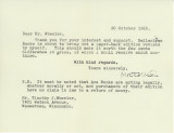 First Tolkien letter (20 Oct 1965)