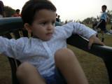Still at the park....