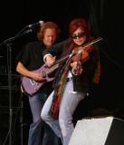 Amanda Shaw fiddles