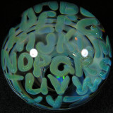 Artist: Mike Gong  Size: 2.54  Type: Lampworked Boro