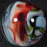 Artist: Erik Johnson  Size: 1.18  Type: Lampworked Boro