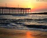1280x1024 Ocean City Sun Rise