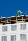 Builders on top of it