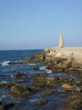 Harbor lighthouse, North Cyprus
