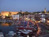 Girne at dusk (Kyrenia)