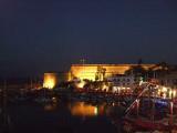 Girne at nightfall (Kyrenia)