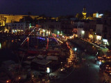 One last shot of Girne/Kyrenia from our rooftop cafe