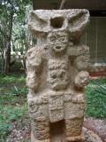 Statue at Dzilbilchatchaltun