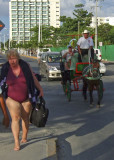 Cozumel tourist scene
