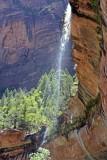 Waterfall at Lower Emerald Pool