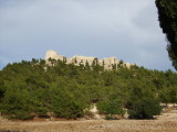 View of Silifke Castle on the hill
