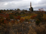 We got to enjoy beautiful fall colors around the ruins and village.