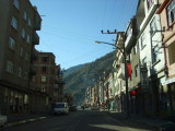 One of the larger towns in the mountains above Giresun.