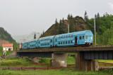 Local train at Ghimeş Pass