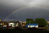 Rainbow over Punta Arenas