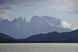 Torres del Paine, from Seno Útima Esperanza
