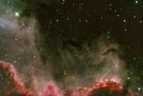 Dust Storm on the Cygnus Wall