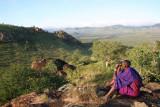 This is in Chyulu Hills in Kenya. Campi ya Kanzi