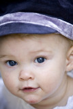 Little Gal, Big Purple Hat