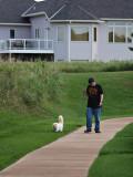 Milo Walking Marv