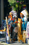 American Indian Street Musicians
