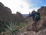 Andy and agave