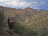 Descent to the creekbed