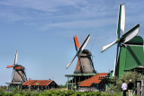 Dutch Windmills of the Zaanse Schans