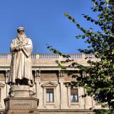 Leonardo da Vinci ( Piazza della Scala )
