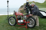 L1030054 - Ron Wood (without hat) and his Norton racer