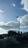 Scudding clouds