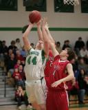 Seton Catholic Central High School's Boys Basketball Team versus Waverly High School in the Section IV Tournament