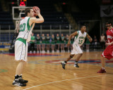 Seton Catholic Central High School's Boys Basketball Team versus Chenango Valley High School in the Section IV Tournament